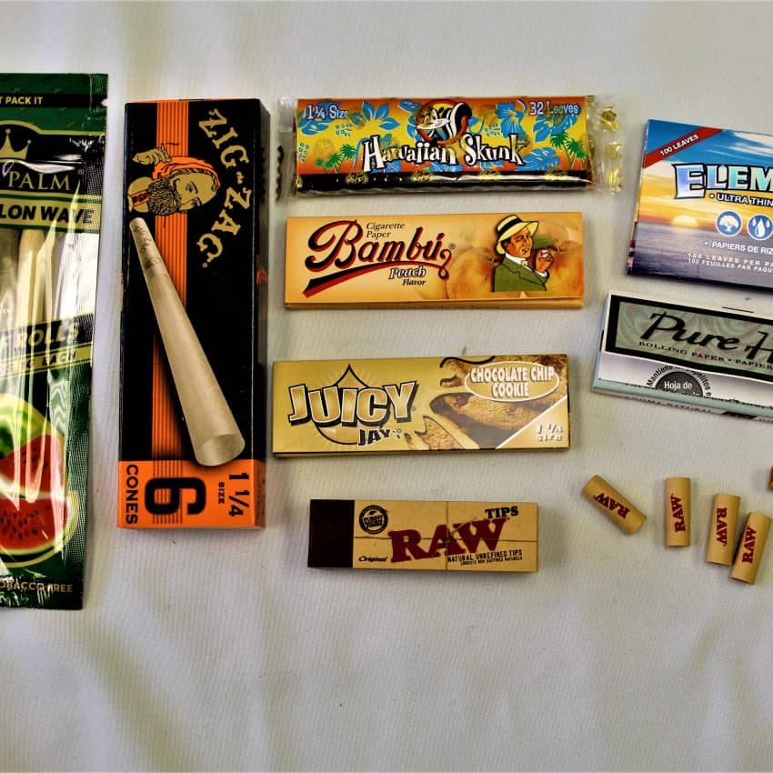 Rolling Papers, Wraps & Tips